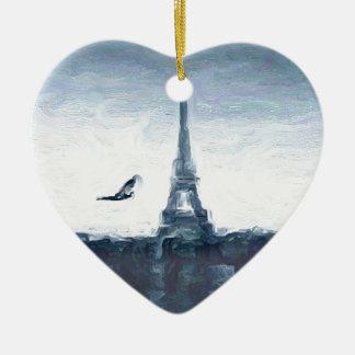 Esquemas de Eifel Adorno De Cerámica En Forma De Corazón