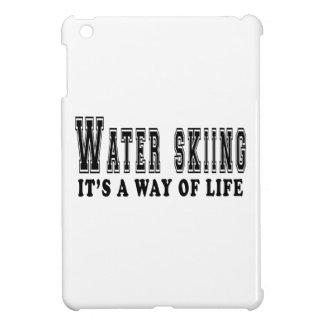 Esquí acuático es manera de vida iPad mini carcasa