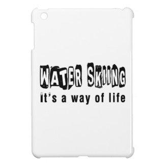 Esquí acuático es una manera de vida iPad mini protectores