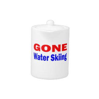 Esquí acuático ido
