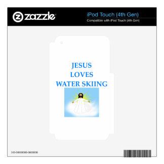 esquí acuático iPod touch 4G skin