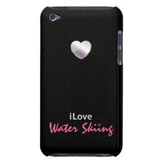 Esquí acuático lindo iPod touch Case-Mate protector