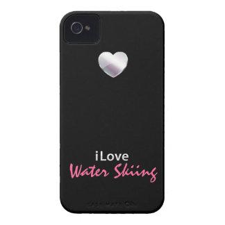 Esquí acuático lindo Case-Mate iPhone 4 carcasa