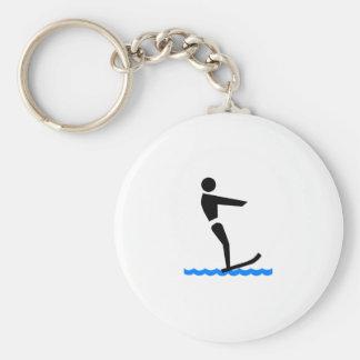 Esquí acuático llaveros personalizados