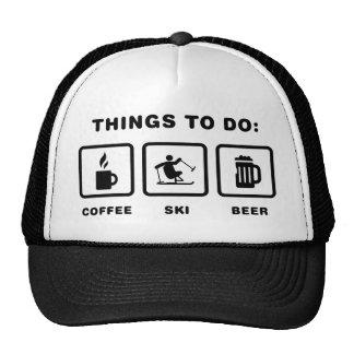Esquí adaptante gorra