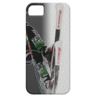 Esquí alpino D1368-038 iPhone 5 Case-Mate Cárcasa