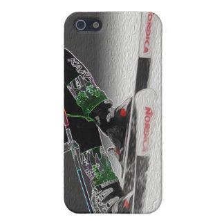 Esquí alpino D1368-038 iPhone 5 Carcasa