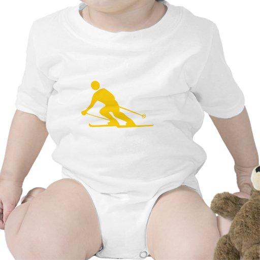 Esquí - ámbar traje de bebé