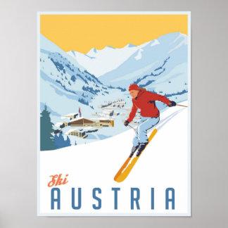Esquí Austria Poster