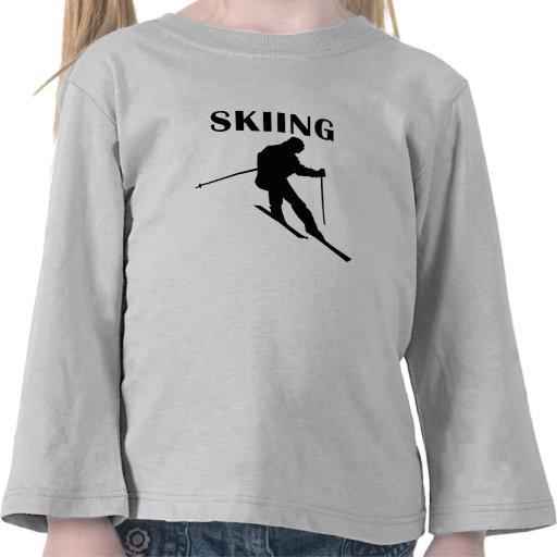 Esquí Camiseta
