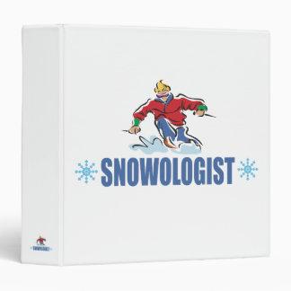 """Esquí chistoso de la nieve carpeta 1 1/2"""""""