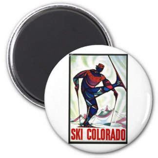 Esquí Colorado Imanes