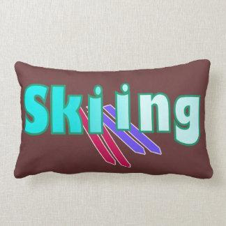 Esquí con los esquiadores cojines