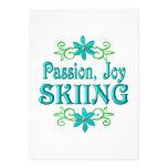 Esquí de la alegría de la pasión anuncios personalizados