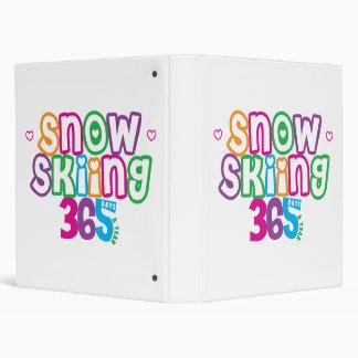 """Esquí de la nieve 365 carpeta 1"""""""