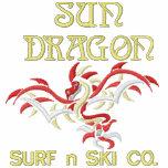Esquí de la resaca n del dragón de Sun