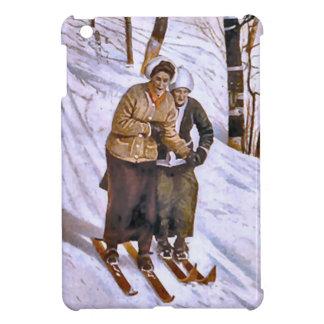 Esquí de las señoras iPad mini cárcasa