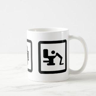 esquí de los apres tazas de café