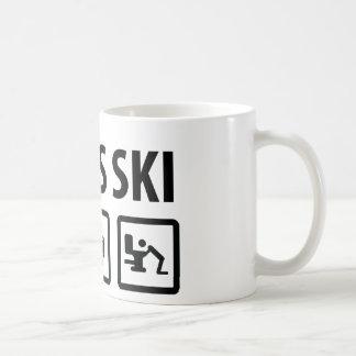 esquí de los apres taza