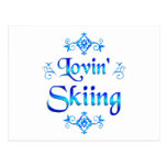 Esquí de Lovin Postal