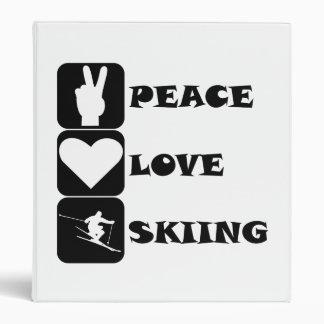 Esquí del amor de la paz