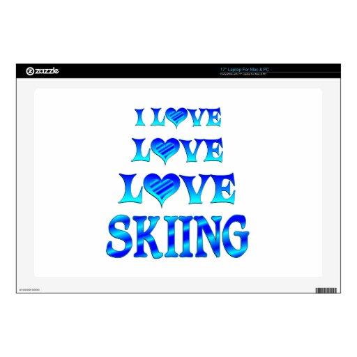 Esquí del amor del amor portátil 43,2cm skin