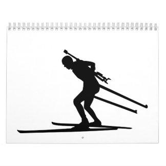 Esquí del Biathlon Calendarios