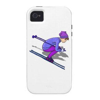 Esquí del chica Case-Mate iPhone 4 carcasas