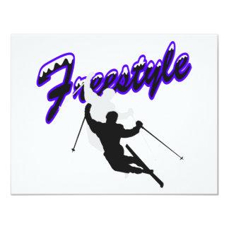 Esquí del estilo libre comunicado personal