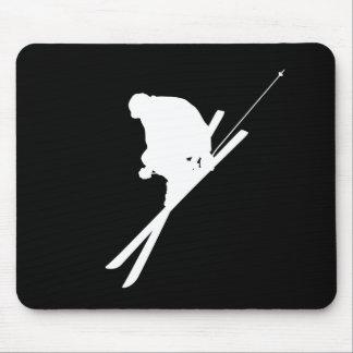 Esquí del estilo libre tapetes de ratones