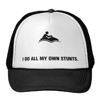 Esquí del jet gorras