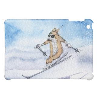 Esquí del perro del Corgi Galés