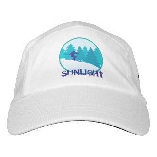 Esquí del trullo de la luz del sol personalizado gorras de alto rendimiento