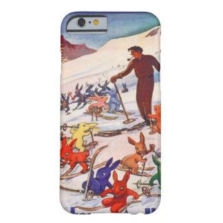 Esquí del vintage, Arlberg, St Antón Funda De iPhone 6 Barely There
