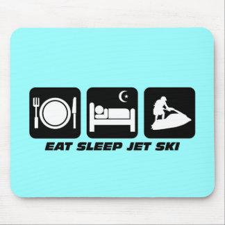 Esquí divertido del jet mouse pads