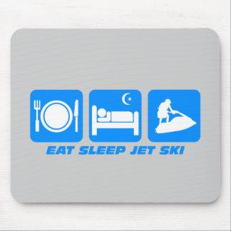 Esquí divertido del jet tapete de ratón