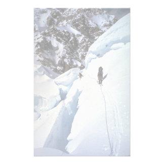 Esquí durante invierno del paso de Kahiltna Papeleria