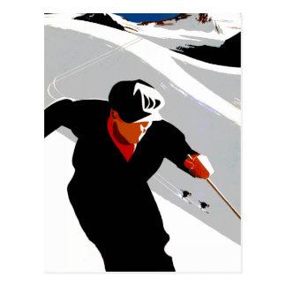 Esquí en los Rockies Postales