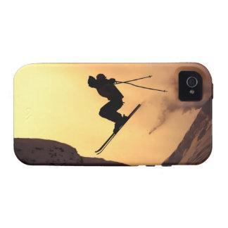 Esquí extremo vibe iPhone 4 carcasas