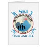 Esquí Jack y materia rosada de Jill Tarjeton