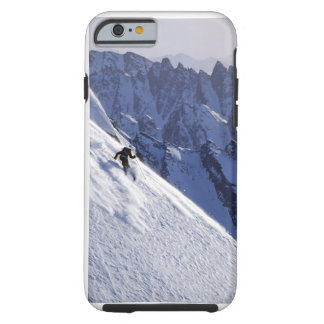 Esquí libre del extremo en Alaska
