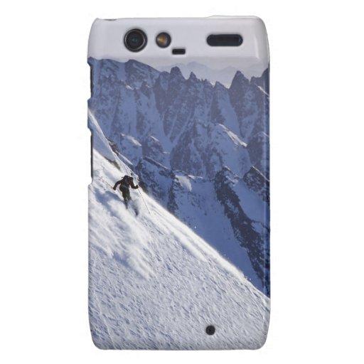 Esquí libre del extremo en Alaska Motorola Droid RAZR Fundas