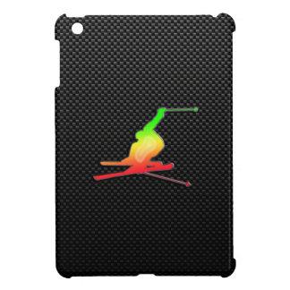 Esquí liso de la nieve iPad mini carcasas
