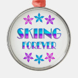 Esquí para siempre ornatos
