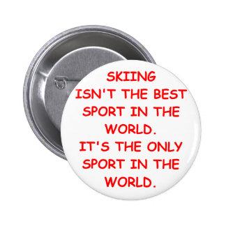 esquí chapa redonda 5 cm
