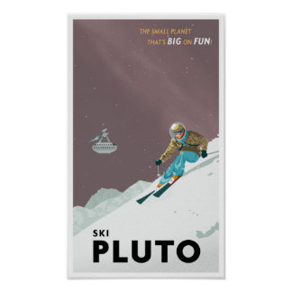 Esquí Plutón Impresiones