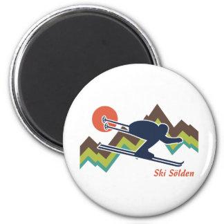 Esquí Solden Imán Redondo 5 Cm