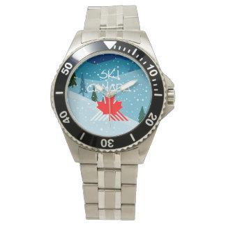 Esquí SUPERIOR Canadá Reloj