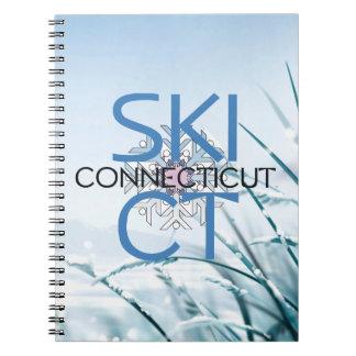 Esquí SUPERIOR Connecticut Libretas Espirales