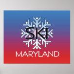 Esquí SUPERIOR Maryland Poster